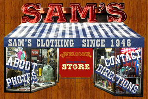 Sam's Clothing in downtown Ann Arbor, Michigan